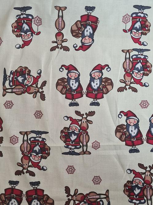 Cotton Poplin Christmas