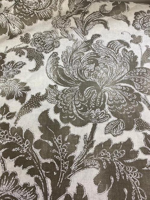 2m Gilded Damask Linen