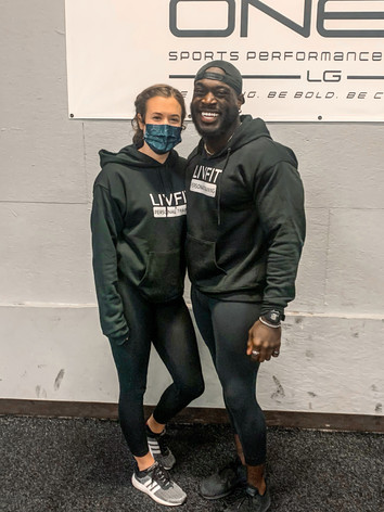 Liv Fit Personal trainers in Liv Fit Merch Hoodie