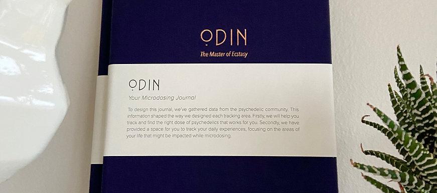 Odin: Microdosing journal (blue)