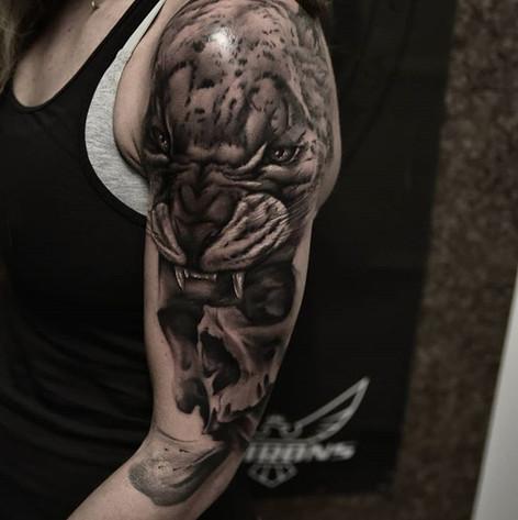 Fierce Tiger Tattoo