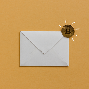 Email Template - We Accept Crypto-donations!