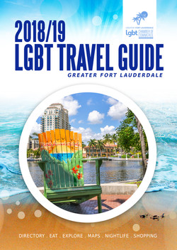 LGBT Travel Guide 2018/19