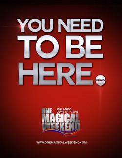 One Magical Weekend 2015 Media Kit
