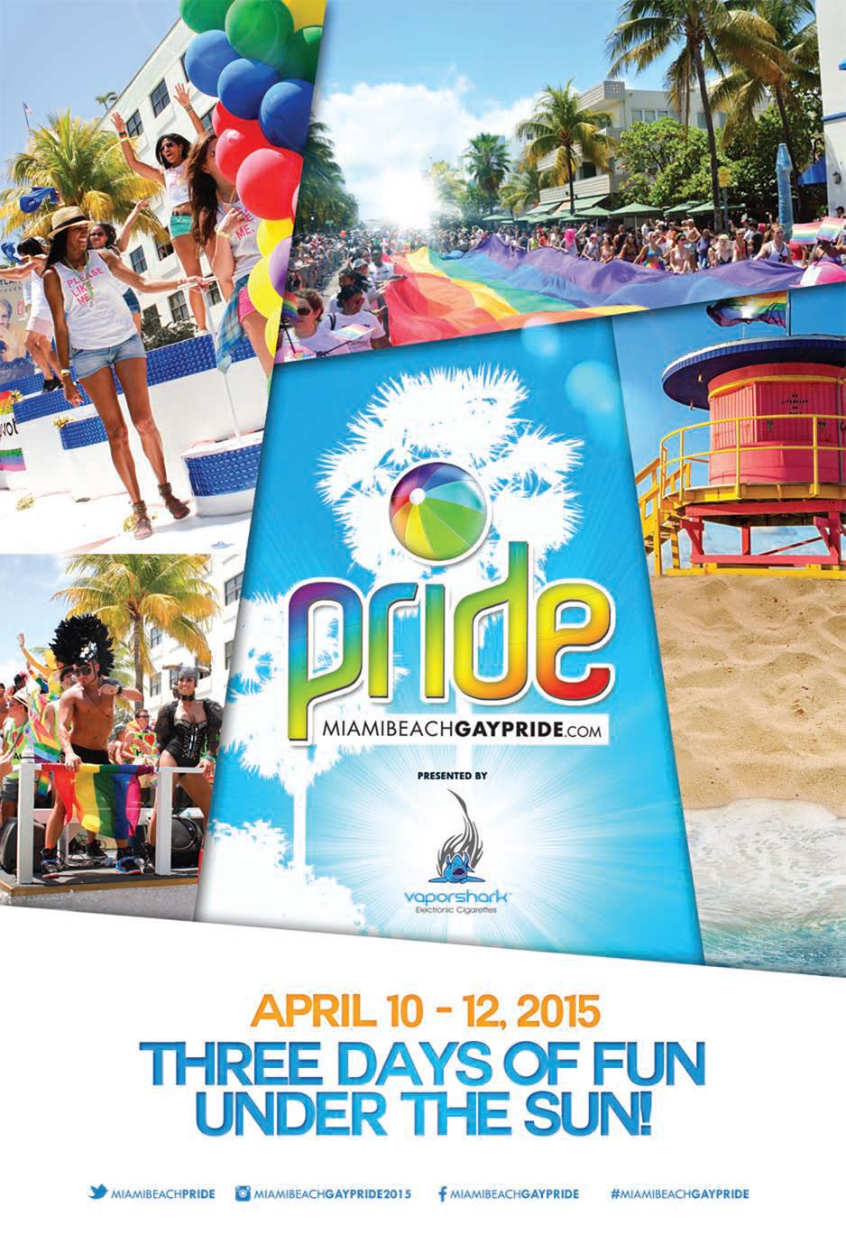 Miami Beach Gay Pride 2015