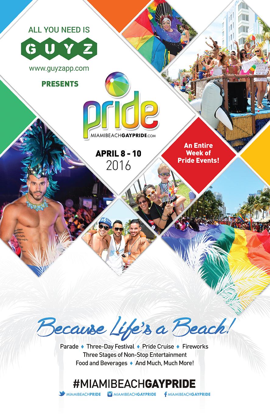 Miami Beach Gay Pride 2016