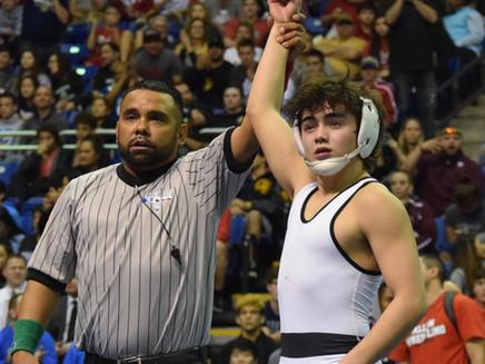 Noah Gochberg wins state wrestling title