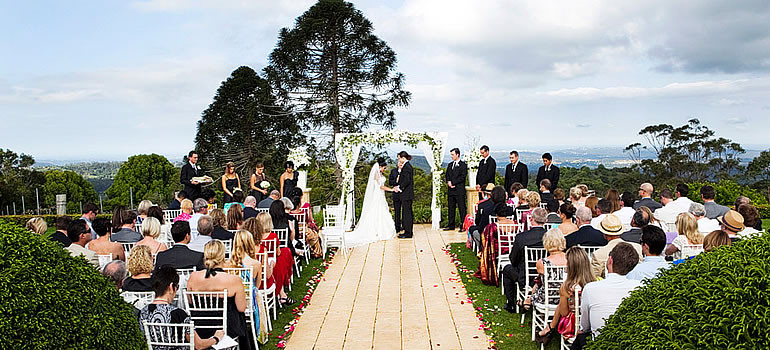 Weddings Sunshine Coast Hinterland
