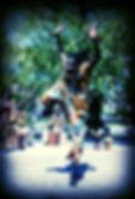 Spectacle de rue danse africaine