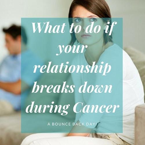 Relationship Breakdown During & After Cancer