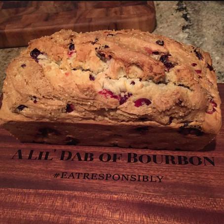 ORANGE BOURBON CRANBERRY BREAD