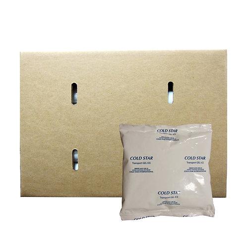 171248 - 12oz Transport Hard Freeze Gel Pack - 6x6 - Case 48/cs
