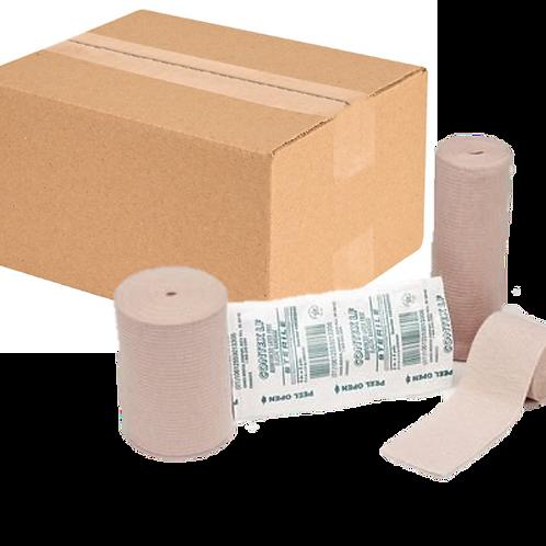 "Contex® Latex Free Premium Grade Elastic Bandage - 4"" X 5yd - Case 60/cs"