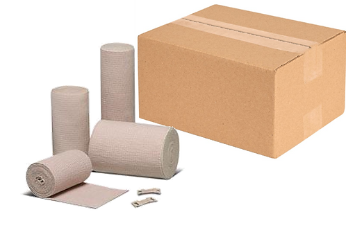 "Econo-Wrap® Latex Free Standard Grade Elastic Bandage - 4"" X 4.5yd - Pack 10/pk"