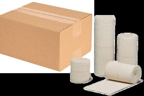 """CEB® Latex Free Premium Grade Cotton Elastic Bandage - 4"""" X 5yd - Case 60/cs"""