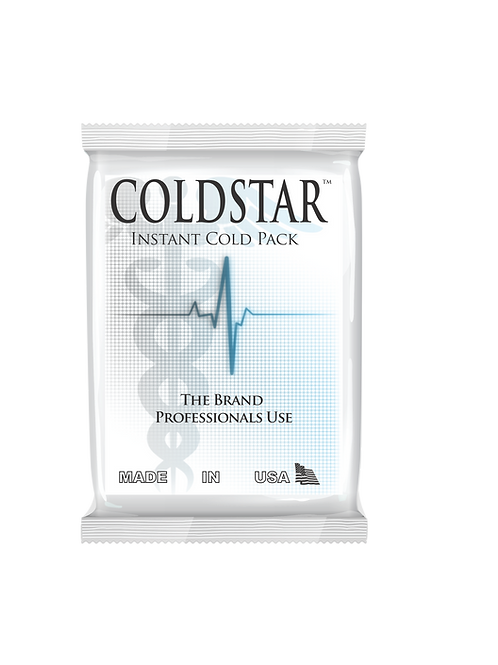 0102 - Single Disposable Instant Non-Insulated Cold Pack / Ice Pack Junior