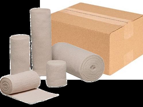 "REB® Latex Free Elastic Bandage - 4"" X 5yd - Case 60/cs (16400000C) - Wraps"
