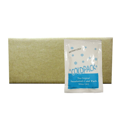 020204 - Reusable Instant One-Side Insulated Cold Pack - Junior 5x7 - Case 24/cs