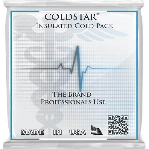 0202 - Reusable Instant One-Side Insulated Cold Pack - Junior 5x7 - Single