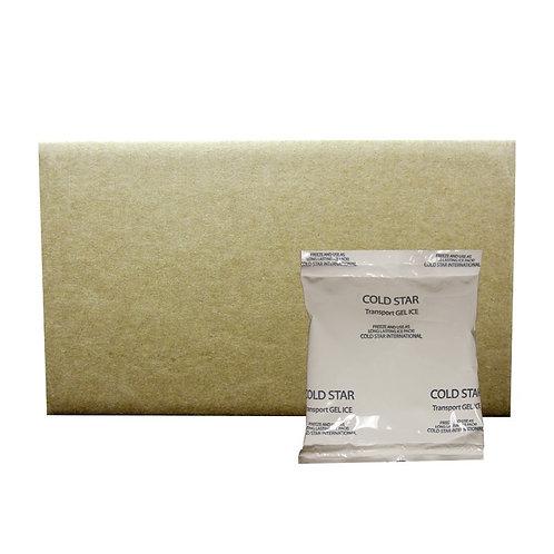 170372 - 3oz Transport Hard Freeze Gel Pack - 3.5x4.5 - Case 72/cs