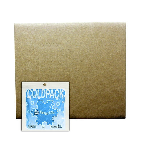 010407 - Disposable Instant Non-Insulated Cold Pack - First Aid Kit 5x5.5