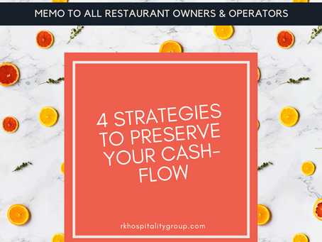 4 Strategies To Preserve Cash-Flow While Operating Under Limited Capacity