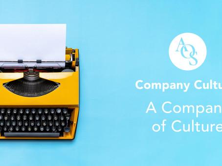 Company Culture: A Company of Culture