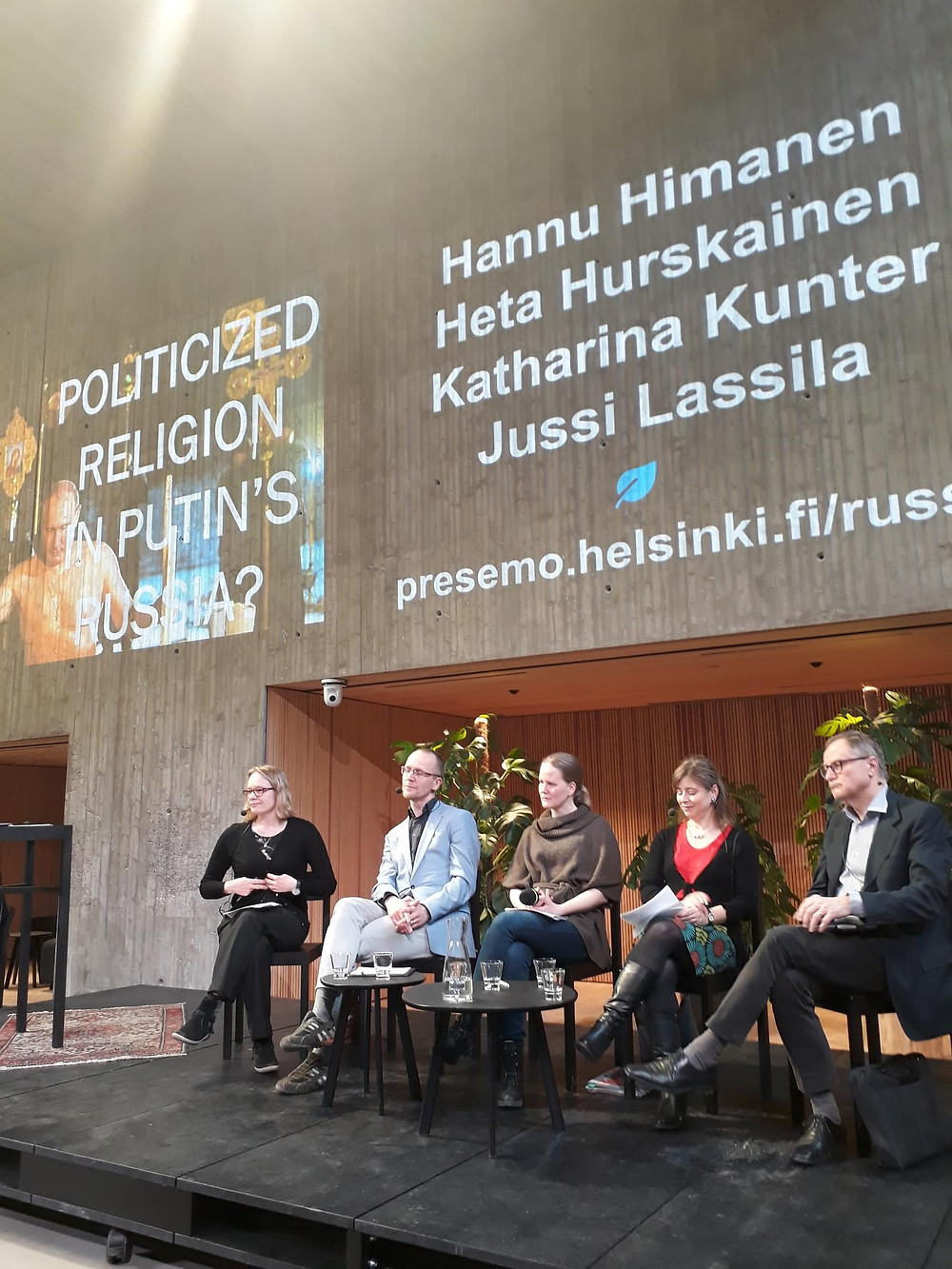 Good discussion at 11th of April 2018 at Tiedekulma Helsinki