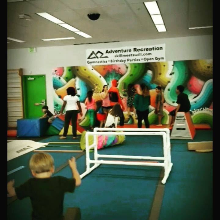 We offer superhero training activities at local recreation and gymnastic centers