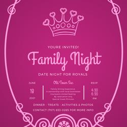Family Night Royals Invite (1)