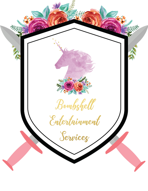 2bombshell entertainment logo transparen