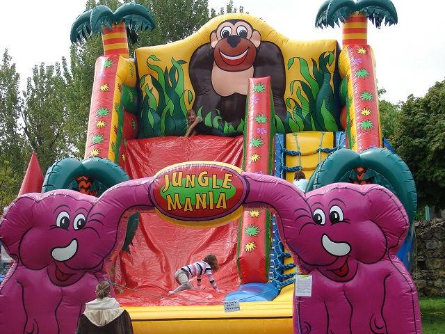 Zjeżdżalnia Jungle Mania