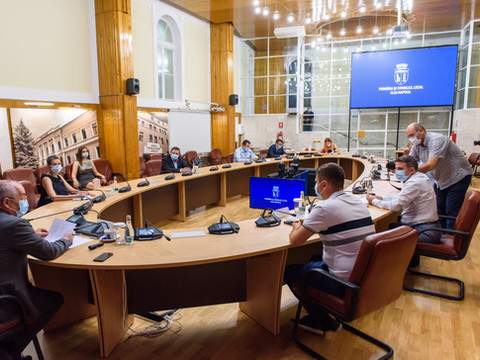 Mayors in the public service Cluj Napoca July 7, 2020