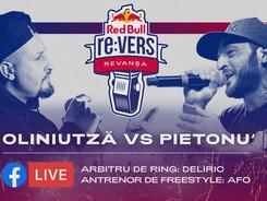 Red Bull re:VERS - The Rematch / Oliniutza vs Pietonu' / FACEBOOK LIVE