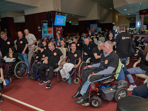 National Billiard Competition in a Wheelchair