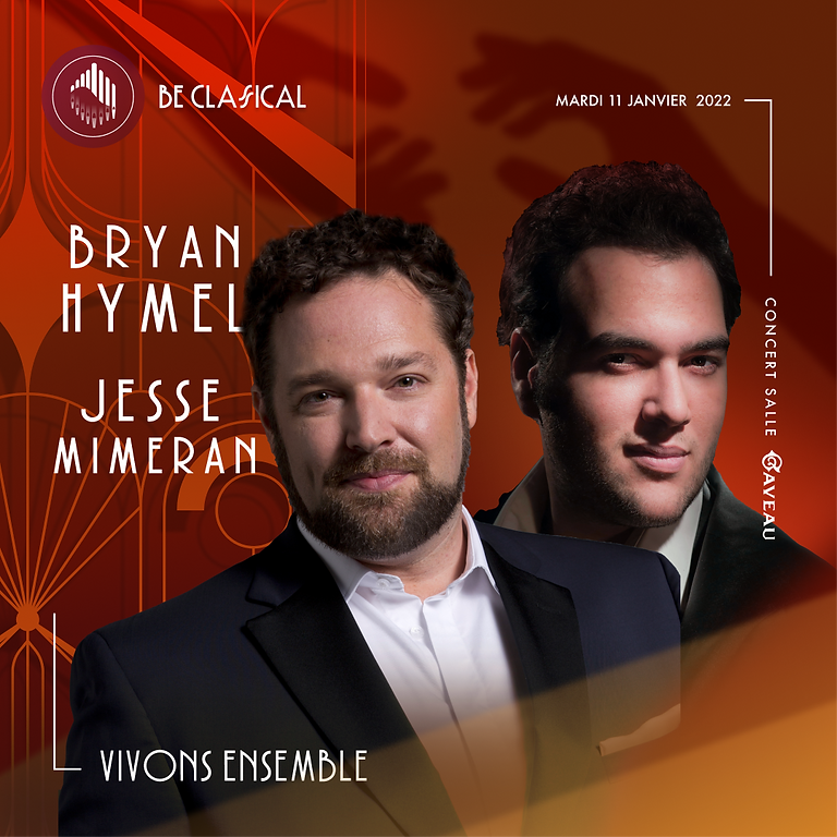 Bryan Hymel & Jesse Mimeran - Vivons Ensemble