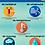Thumbnail: Wandplaat - De weerselementen