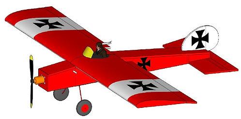 Tiny Little Fokker ... 775mm WS