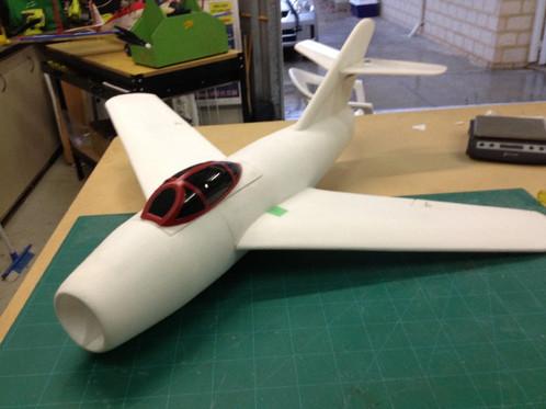 Mig 15 990mm Ws Lockeys Rc Plans Airplane Plans