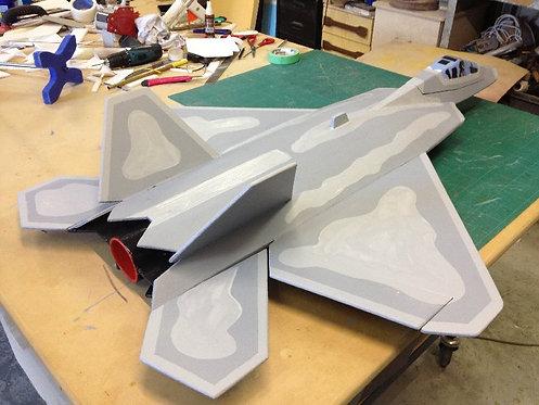F-22 ... Ez Jet ... 860mm WS