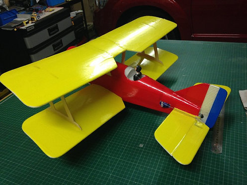 Mini SE 5 Biplane .. Swap-Pod Series