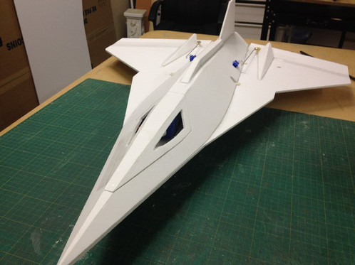 SR-72 ... Ez Jet ... 770mm WS | Lockeys RC Plans, Airplane ...