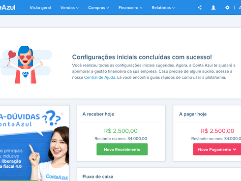 Onboarding: helping new clients to use Conta Azul's platform