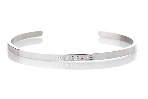 I AM BRAVE - Affirmation Bracelet