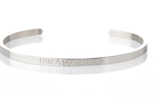 I AM A SURVIVOR - Affirmation Bracelet