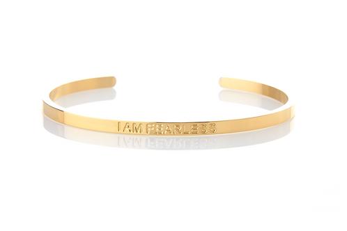 I AM FEARLESS - Affirmation Bracelet