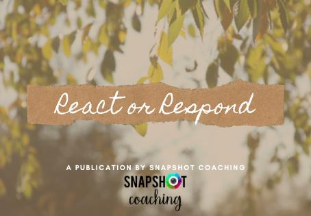React or Respond