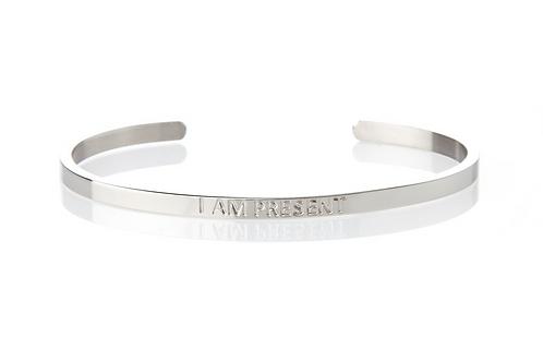 I AM PRESENT - Affirmation Bracelet