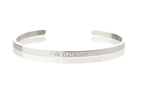 I AM WORTHY - Affirmation Bracelet