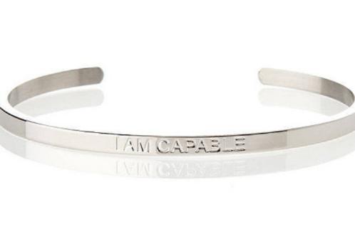 I AM CAPABLE - Affirmation Bracelet